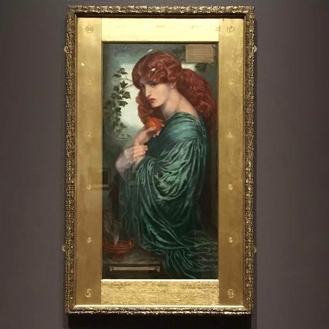 Proserpine, 1881-82,  Dante Gabriel Rossetti