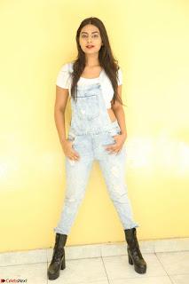Neha Deshpande in Spicy Denim Jumpsuit and Whtie Crop Top March 2017 016.JPG