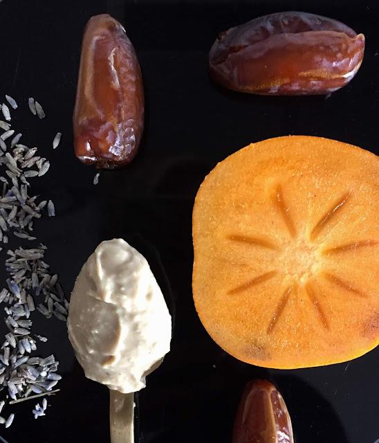 Sharon Frucht Törtchen süß glutenfrei vegan Rezept