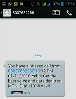 How To Activate Mtn Missed Call Alert