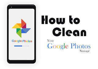 how to clean google photos storage