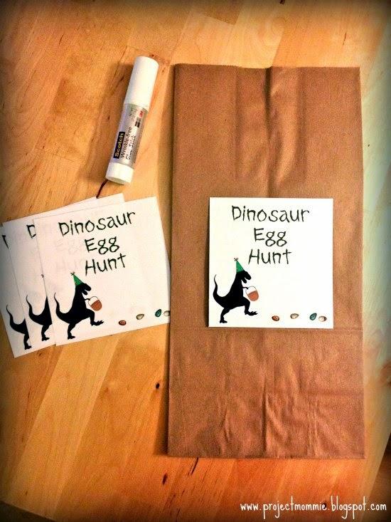 DIY Plastic Dinosaur Eggs For Egg Hunt