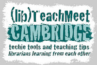 Cambridge Librarians' TeachMeet logo