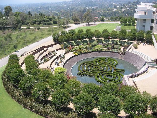 Getty Center Museu em Los Angeles na Califórnia