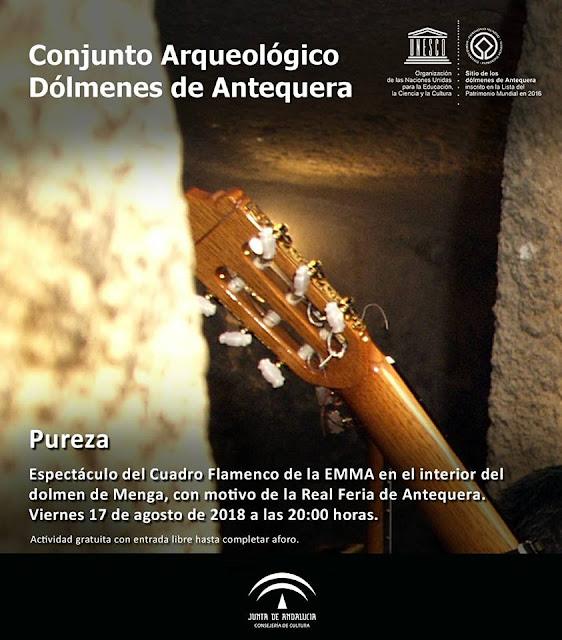Flamenco en los Dólmenes de Antequera