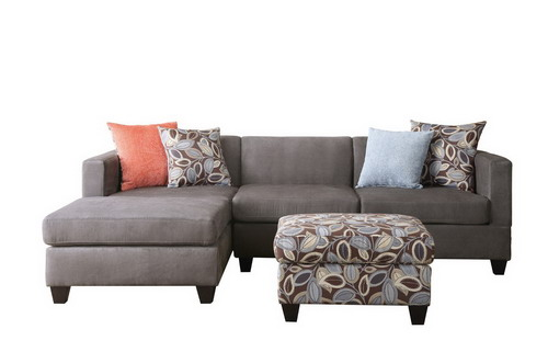 Poundex Bobkona Modular Sectional Sofa with Review