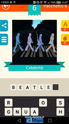 Iconica Italia Pop Logo Quiz soluzione pacchetto 6 livelli 6-100