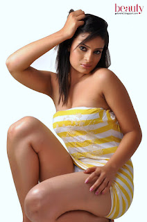 Anuhya Reddy in colourful towel under shower spicy pics