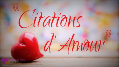 Citations et proverbes sur image d'amour