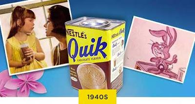 Barattolo di Nestlé Quik dagli anni '40