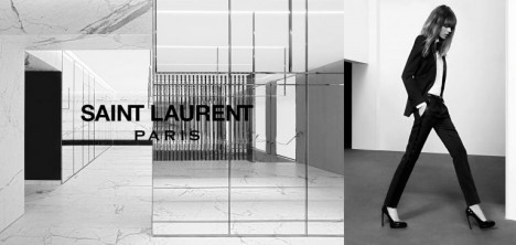 Newsflash: Saint Laurent's Pre-Fall 2013 Ad Campaign Starring Freja Beha Erichsen Has Landed!