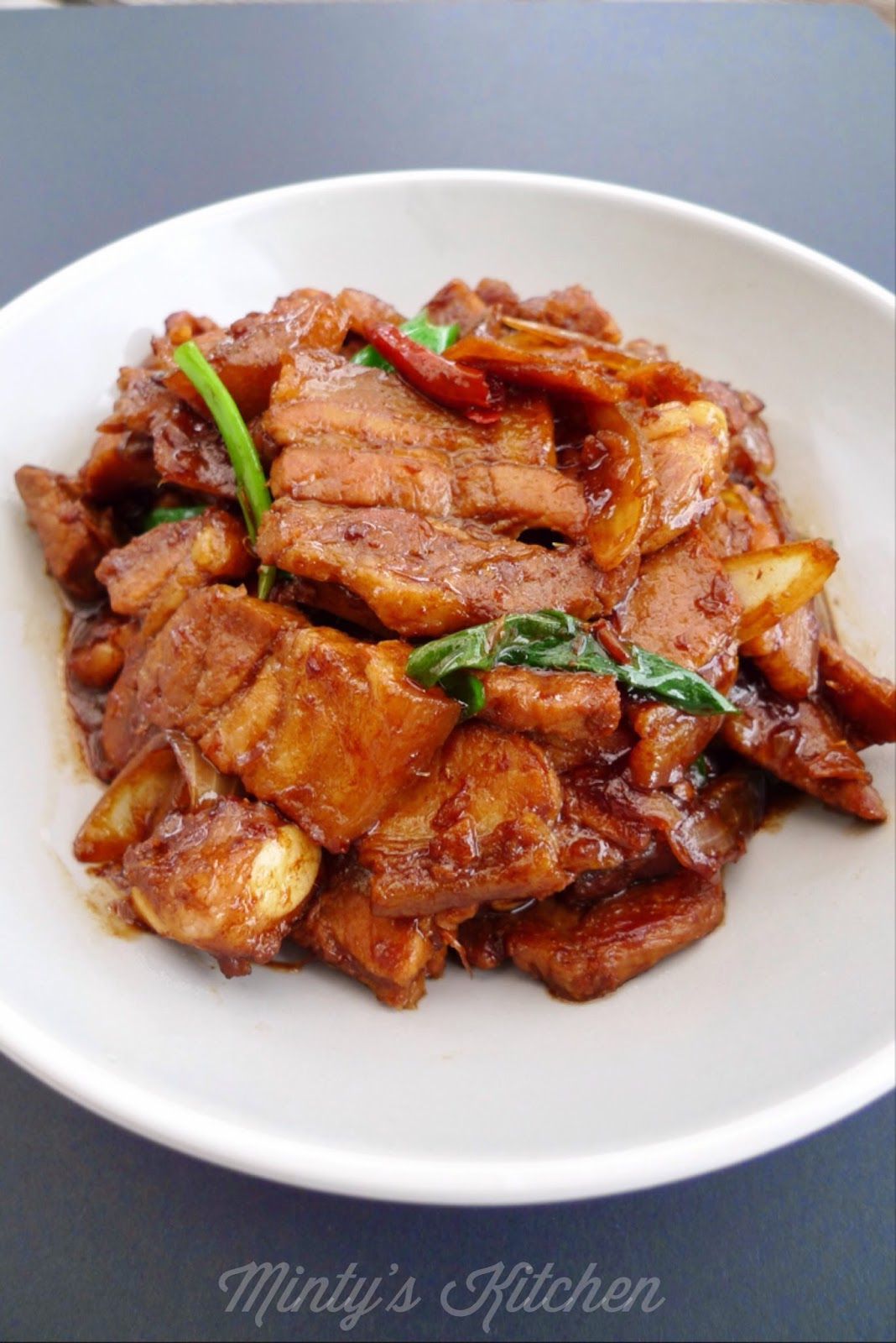 Pork Belly With Salted Fish