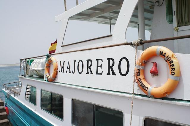Ferry até Isla de Lobos