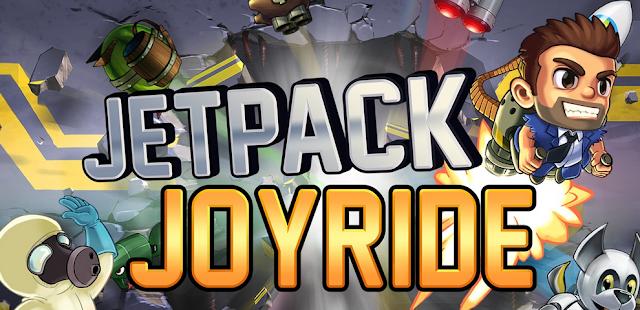 تحميل لعبة جيتباك جويرد Jetpakck joyride مهكرة ( عملات ذهبية غير محدودة )