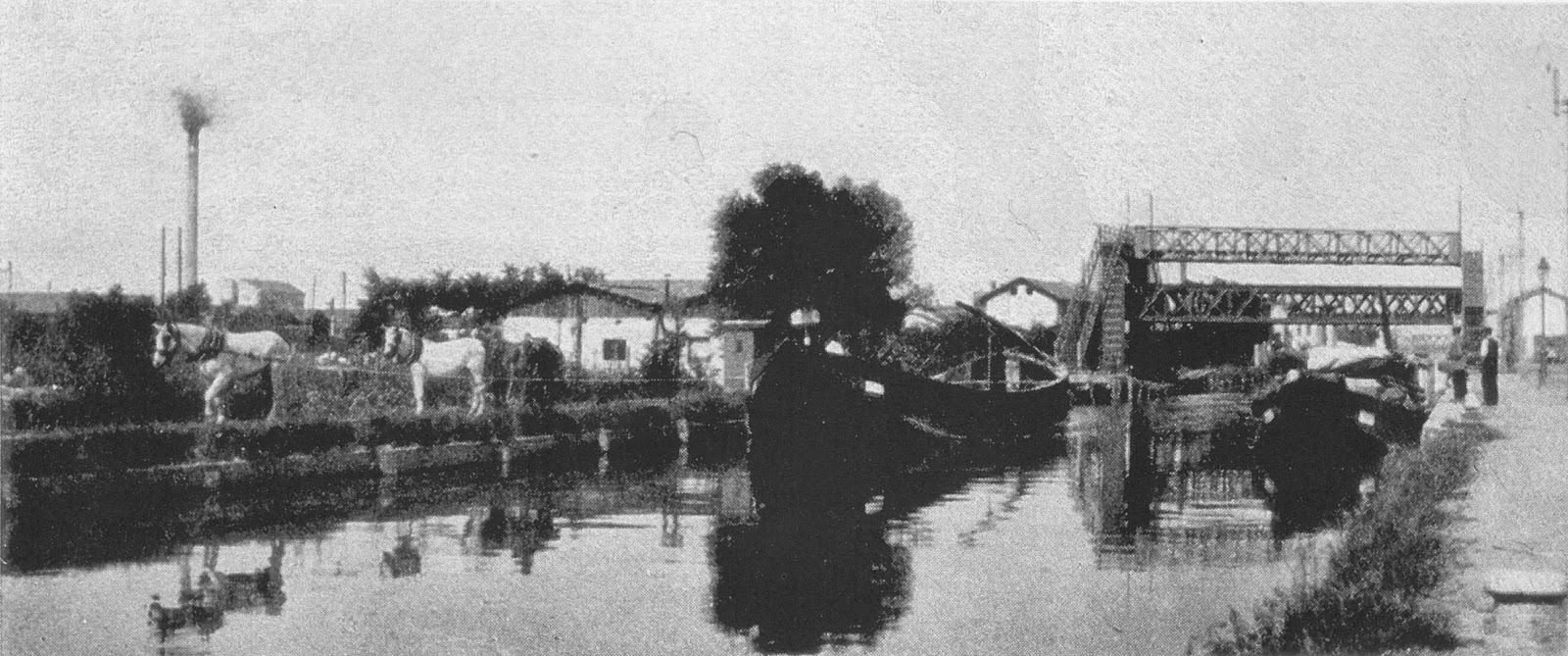 naviglio ponte ferrovia richard