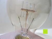innen: amzdeal® Vintage Glühlampe Glühbirne T03 (40W, E27, 220-240V)