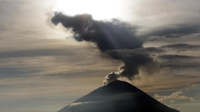 Kondisi Terkini Gunung Agung