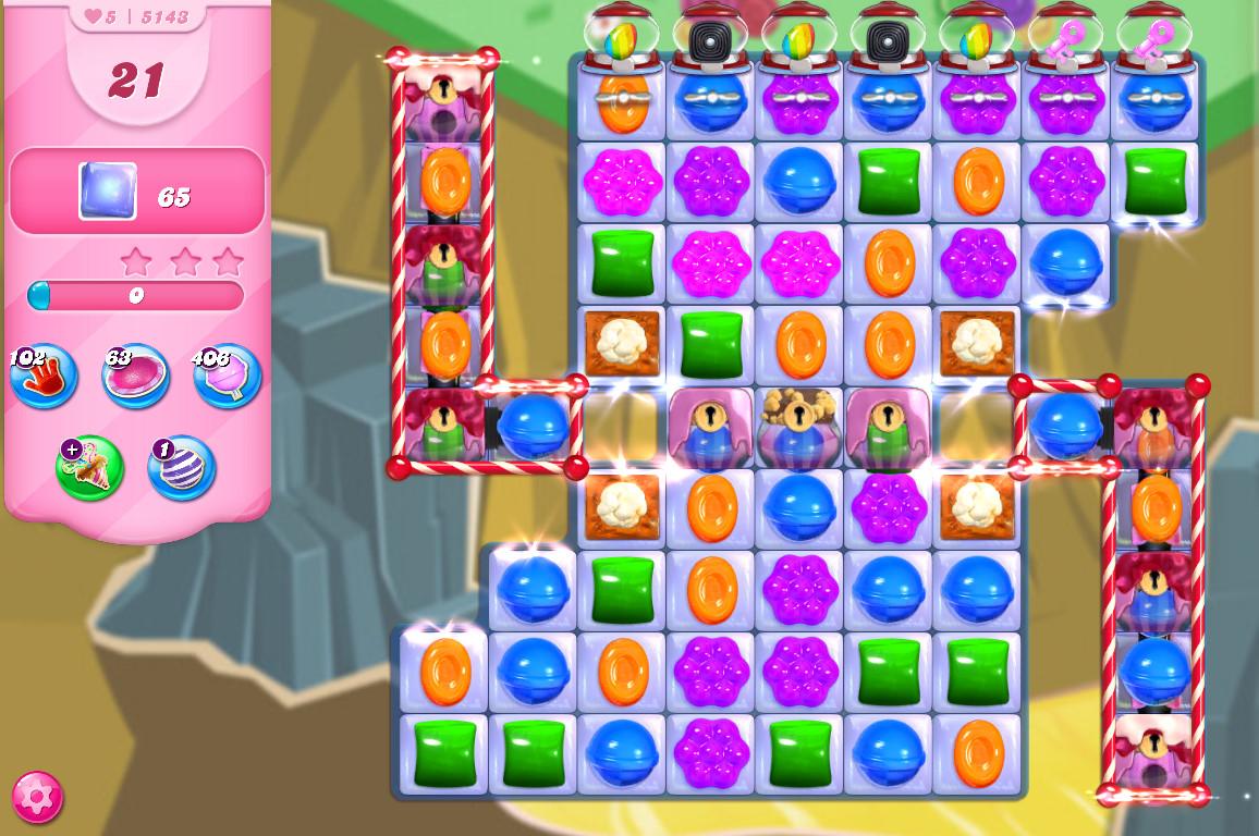Candy Crush Saga level 5143