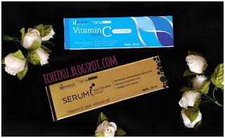 Review Serum Whitening Gold Dan Serum Vit C Collagen