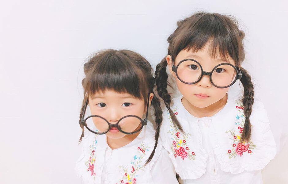 おそろいアイテムメガネ