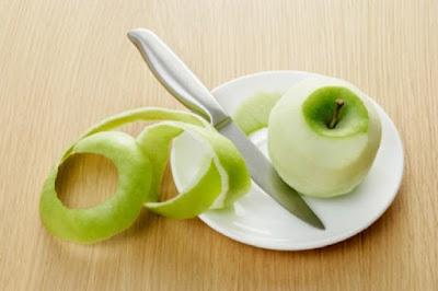 Menggunakan Kulit Apel