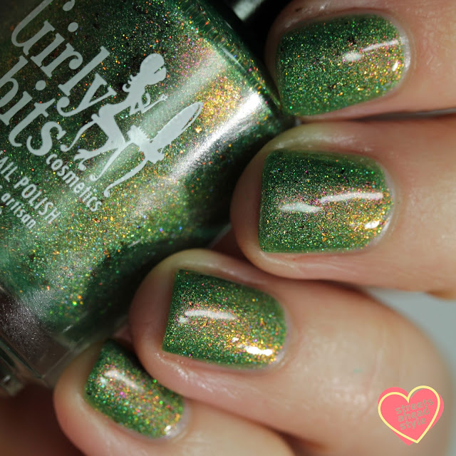 Girly Bits Absinthe Fairy swatch by Streets Ahead Style