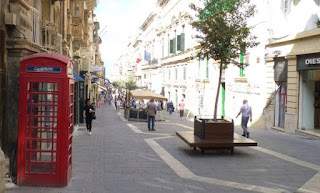 Cabina británica de La Valletta.