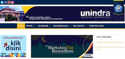Pendaftaran Unindra 2017