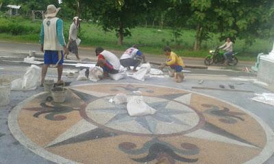 Jasa Tukang Batu Sikat Ampyangan Lantai Carport