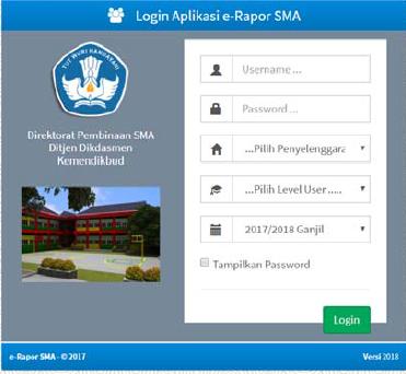 Ini yang Harus Diperhatikan saat Instal Aplikasi e-Rapor SMA Versi ...