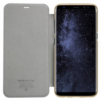 NILLKIN SPARKLE FLIP CASE COVER SAMSUNG GALAXY S8 GOLD
