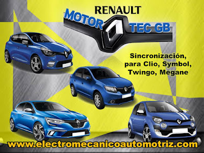 Sincronizacion Motor Renault Motortec GB