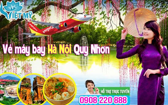 Giá vé máy bay Quy Nhơn đi Hà Nội