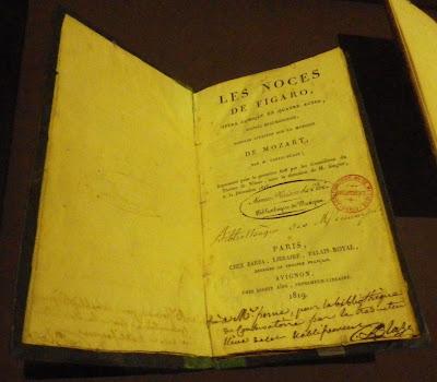 Les Noces de Figaro Nîmes 1818