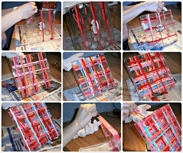 jak przerobić plastikowy pojemnik instrukcje