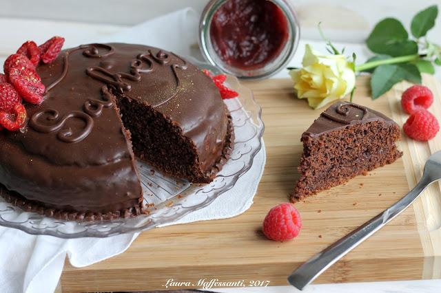 torta cioccolato light senza burro senza uova