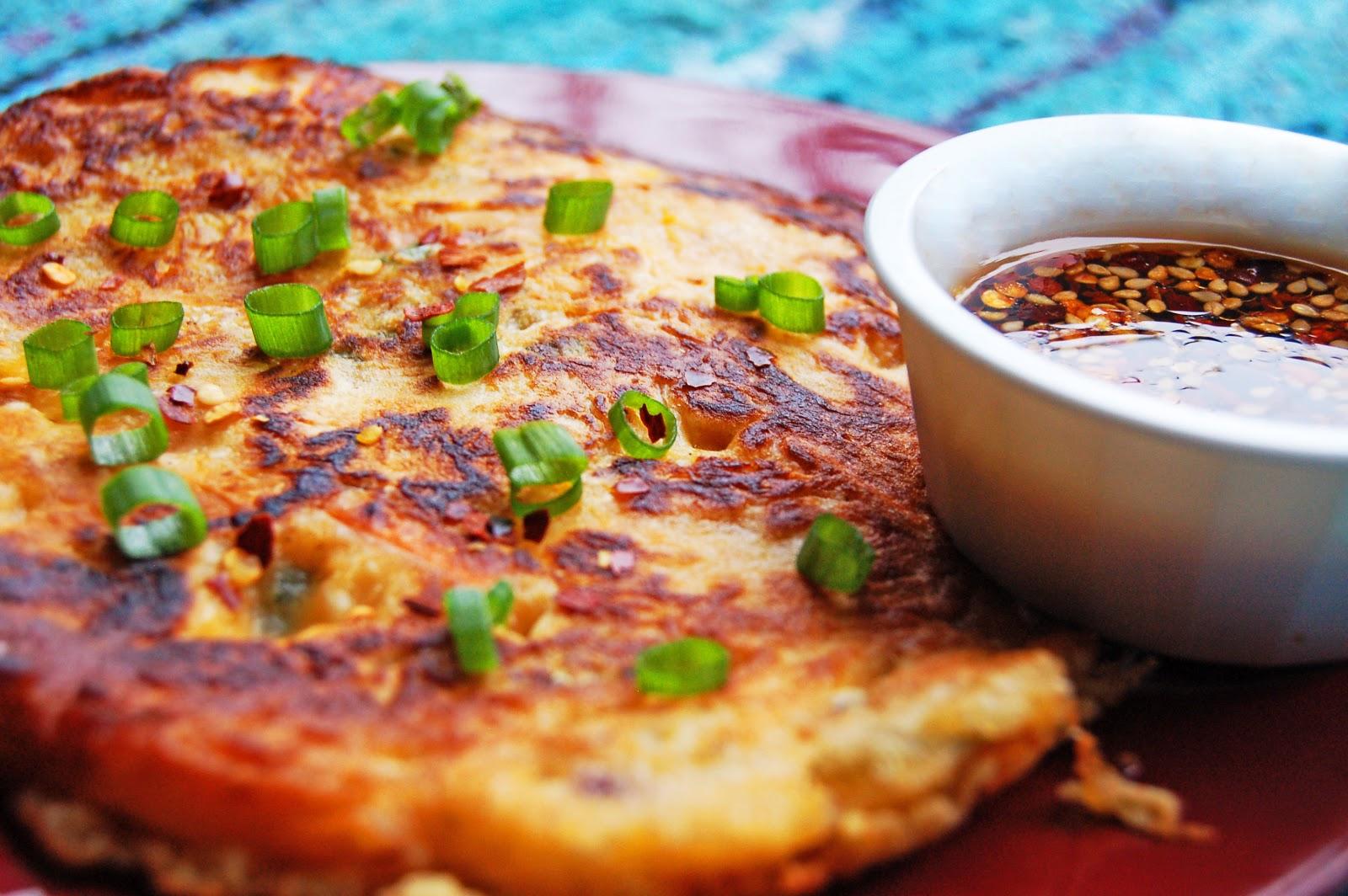 The Spice Island: Kimchijeon (Korean Kimchi Pancakes)