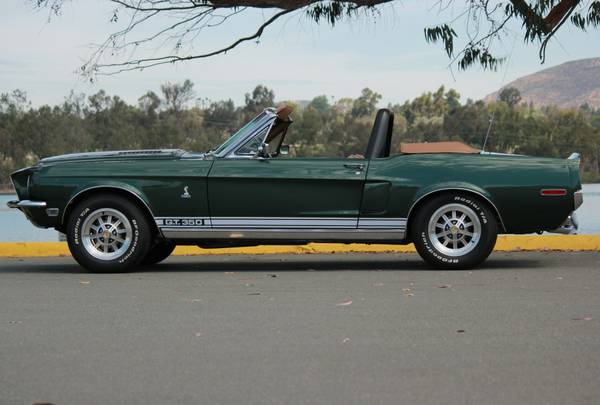 Fully Restored, 1968 Shelby Mustang GT350 Convertible ...
