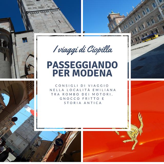 Modena e il museo Ferrari