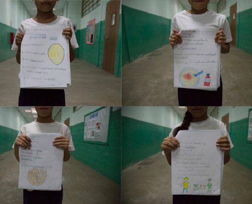 ¡DESGARRADOR! Niños de escuelas venezolanas dibujan cómo se vive en hambre