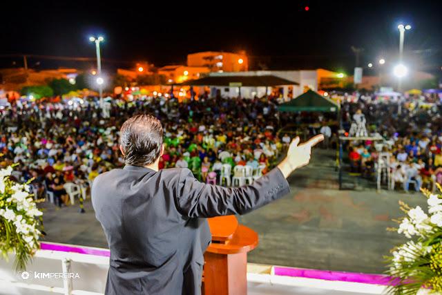 4ª Noite da 11ª Edição do Chapadinha para Cristo 2018, com a presença do Pr. Gilmar Fiuza