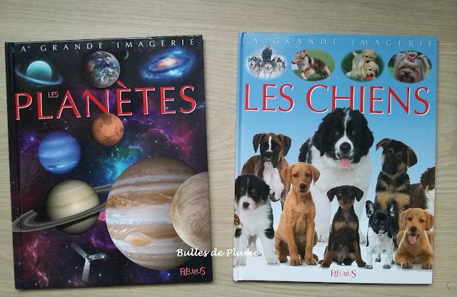 La grande imagerie Fleurus: Les planètes / Les chiens
