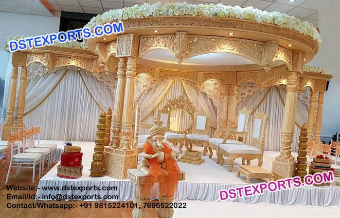 Buy Top 5 Indian Wedding Mandaps For Event Decoration By Dst Exports