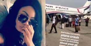 BBNaija: Ex-housemate , Nina Thanks God For Surviving A Near Plane Mishap