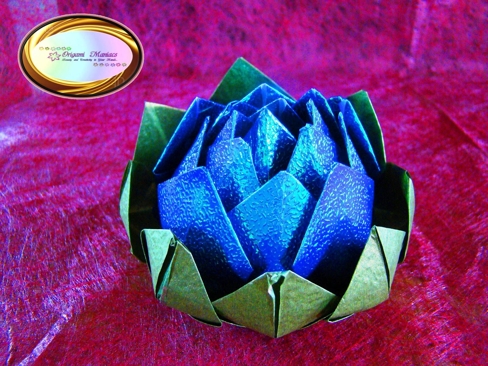 Origami Maniacs: Beautiful Origami Lotus Flower - photo#44