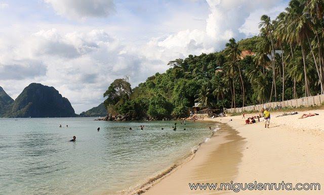 Orange Pearl-Beach-El-Nido-Palawan-Filipinas