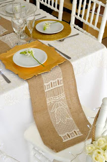 Decoración de bodas ecológicas