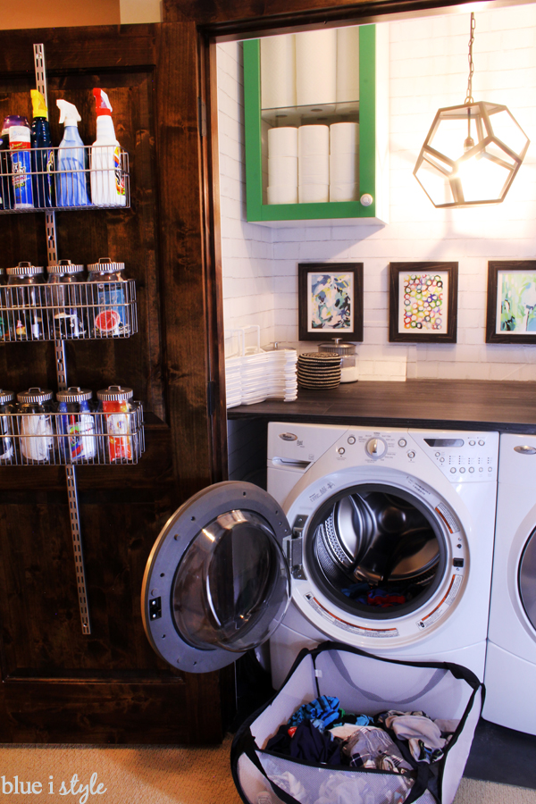 Functional Laundry Closet Makeover