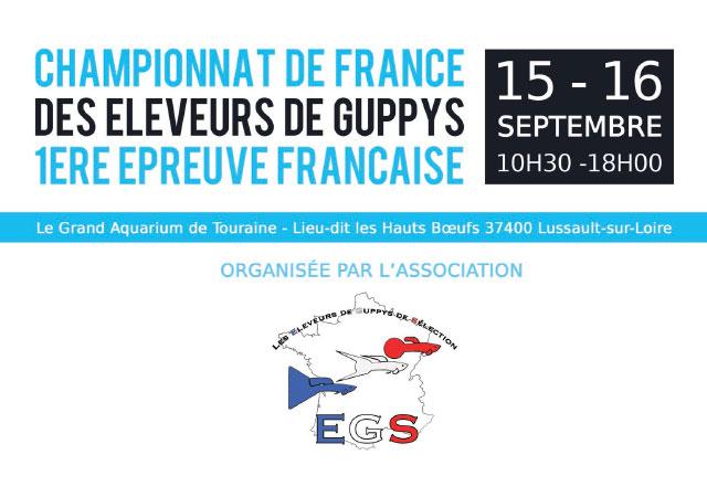 EGS - Championnat de France de Guppys 2018 - [1/2]