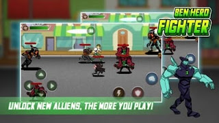 Little Ben Alien Hero - Fight Alien Flames Apk